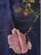 Dries Van Noten Floral Print Scarf - Blue/Multicolor