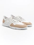 Tod's Competition Sneaker - Beige+bianco