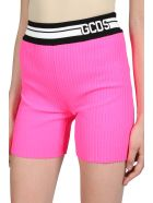 GCDS Knit Shorts - Rosa fluo