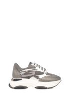 Alberto Guardiani Gray Suede Sport Lady Vague Sneakers - Gray