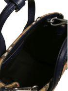 Burberry The Baby Banner Shoulder Bag - Regency Blue