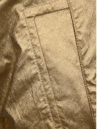 Philosophy di Lorenzo Serafini Philosophy Laminated Shorts - GOLD