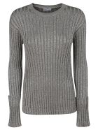 RED Valentino Knitted Sweater - silver