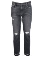 Frame Distressed Jeans - Stockcross