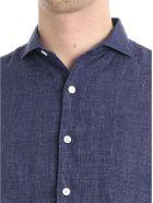 Finamore Shirt Linen - Blue