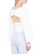 A.W.A.K.E. Mode Bluse - Bianco
