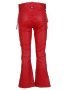 Ben Taverniti Unravel Project Laced-up Flared Trousers - Red