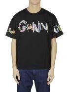 Versus Versace Ganni Print T-shirt - Black