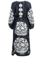 Vita Kin Shalimar Midi Dress - Navy/white