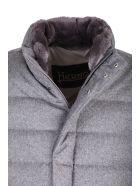 Herno cashmere and silk coat - Grigio