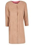 DROMe Reversible Coat - Brown