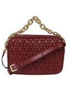 Furla Cometa Shoulder Bag - Cherry