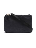 Borbonese Shoulder Bag Small - Nero/nero