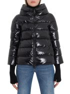 Herno Down Jacket With Glove Sleeves - Nero