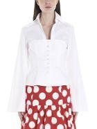 Sara Battaglia Shirt - White