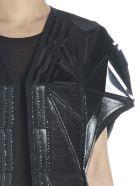 Rick Owens 'whisper Short Mantle' Vest - Black
