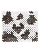 Susan Alexandra Cow Pattern Beaded Tote - Bianco/nero