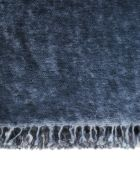 Avant Toi Cashmere Bicolor Stole - Blu Navy