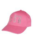 Dsquared2 Pink Cotton Cap - Pink
