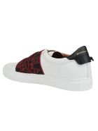 Givenchy Urban Street Sneakers - White/red/black