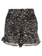 Ganni Floral Print Shorts - FLOWER MIX