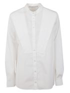 Stella McCartney Pleat Applique Shirt - Pure white