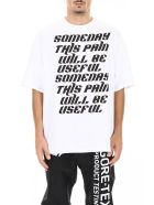Lanvin T-shirt With Lettering - WHITE (White)