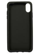 Dolce & Gabbana Logo Embossed Phone Cover - Black/White