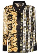 Versace Baroque Print Shirt - Multicolor