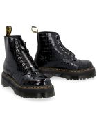 Dr. Martens Sinclair Hi Max Pebbled Leather Boots - black