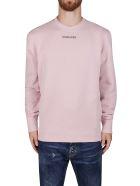 Golden Goose Pink Cotton Archibald Sweatshirt - Pink