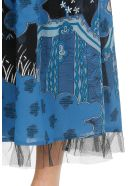 RED Valentino Toile De Jouy Dress - BLUE