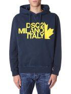 Dsquared2 Hooded Sweatshirt - BLU