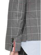 Thom Browne Double-breasted Jacket - MED GREY