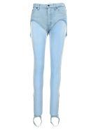 Y/Project Stirrup Pants - LIGHT BLUE