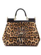Dolce & Gabbana 0 Dolce & Gabbana Leo Sicily Handbag In Dauphine Leather