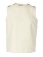 Gucci Gilet Buttons/dettagli Bottoni - Ivory
