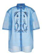 Raf Simons Short Sleeve Shirt - Blue