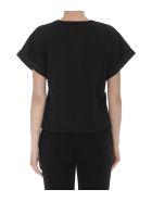 Philosophy di Lorenzo Serafini Cropped Logo T-shirt - Black