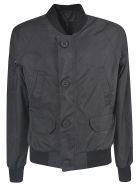 Canada Goose Buttoned Multi-pocket Bomber - Black