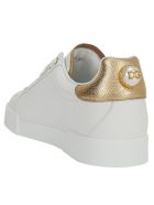 Dolce & Gabbana Sneakers - Bianco/oro