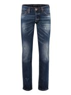 Philipp Plein Straight Supreme Flame Jeans - Denim