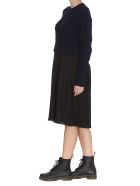 Kenzo Mixed Knit Dress - Black
