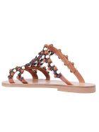 Elina Linardaki Choco Chips Sandals - Multi