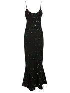 The Attico Embellished Dress - Black