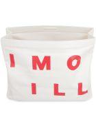 Simon Miller Leather S818 Lunch Bag Clutch - panna