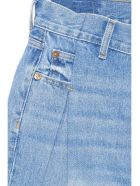 RE/DONE '40s Zoot' Jeans - Light blue