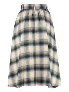 Golden Goose Checked Skirt - Multicolor