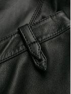 Alberta Ferretti Leather Pant - Black