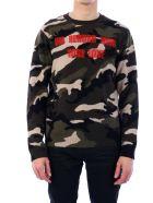 Valentino Military Sweater - Green